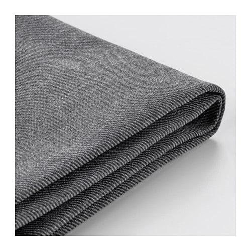 EKTORP Sofa cover, Nordvalla dark gray Nordvalla dark gray