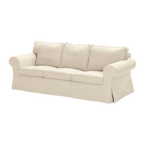 EKTORP Sofa cover IKEA Easy to keep clean with removable, dry clean only cover.