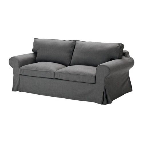 Kommode Ikea Gebraucht Berlin ~ EKTORP Sofabed slipcover IKEA The cover is easy to keep clean as it is