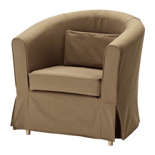EKTORP TULLSTA Chair IKEA The pillow provides comfortable lumbar support.  Extra covers are available for variation and renewal.
