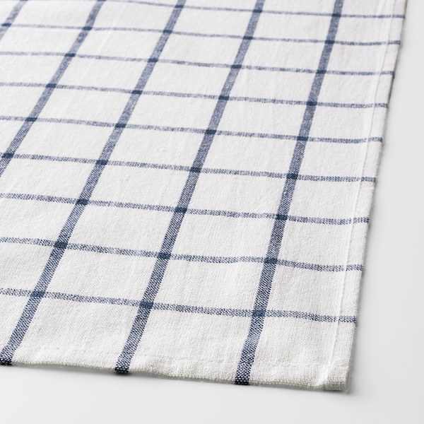 "ELLY dish towel white/blue 26 "" 20 "" 4 pack"
