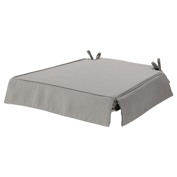 ELSEBET Chair pad, gray, 17x17x2 ""