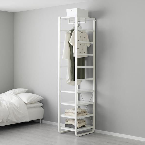 """ELVARLI shelf unit white 17 1/2 """" 21 5/8 """" 85 """""""