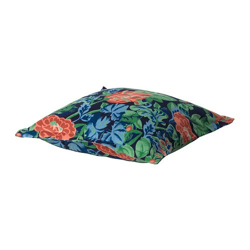 EMMIE PÄRLA Cushion cover IKEA Cotton velvet gives depth to the color and softness to the touch.  Zipper makes the cover easy to remove for washing.