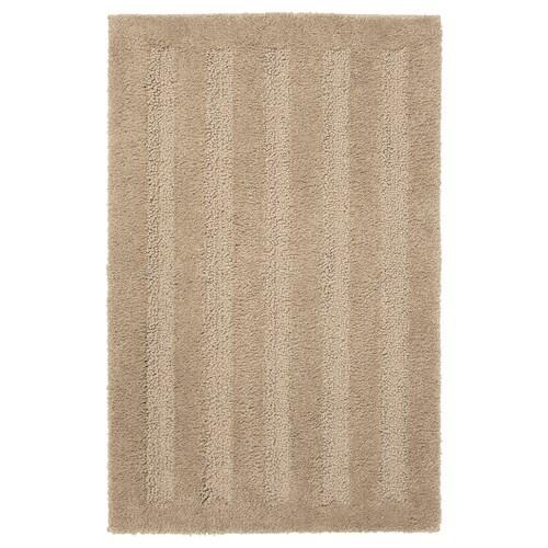 "EMTEN bath mat beige 6.55 oz/sq ft 32 "" 20 "" 4.31 sq feet"