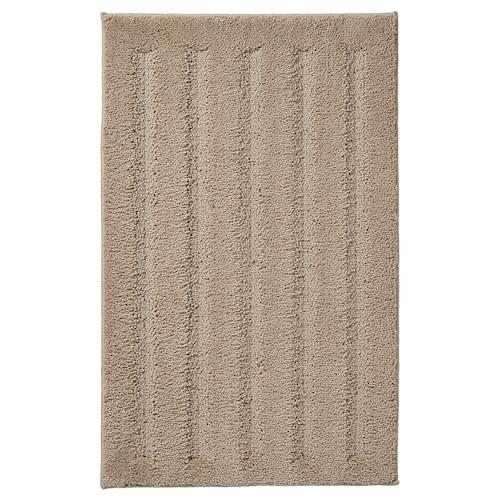 """EMTEN bath mat dark beige 32 """" 20 """" 4.31 sq feet"""