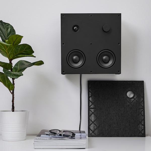 "ENEBY Bluetooth speaker, black, 12x12 """