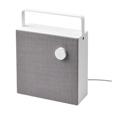 ENEBY Bluetooth speaker, white/gen 2, 8x8 ""