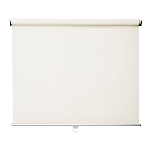 ENJE Roller blind IKEA Cordless for increased child safety.  Roller blind that filters the light; reduces glare on TV and computer screens.