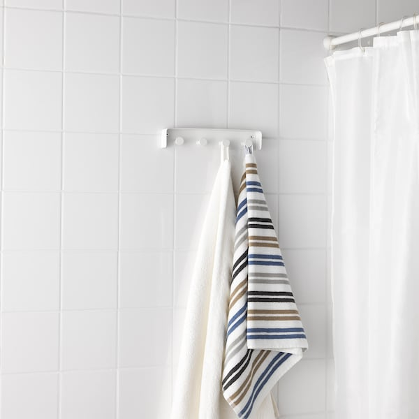 ENUDDEN Towel rack, white