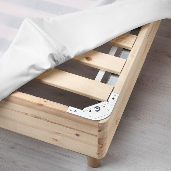 Espevar Slatted Mattress Base For Bed Frame White King Ikea