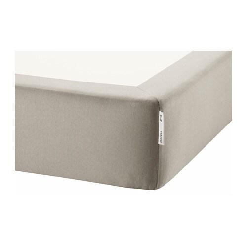 ESPEVÄR Spring mattress base for bed frame, beige Twin beige