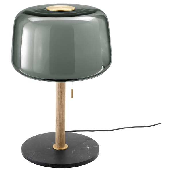 lamp Table bulb EVEDAL LED marblegray gray with 8OPwXnkN0