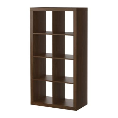 Ikea Walnut Shelves: Changing Table Pad To Fit Expedit