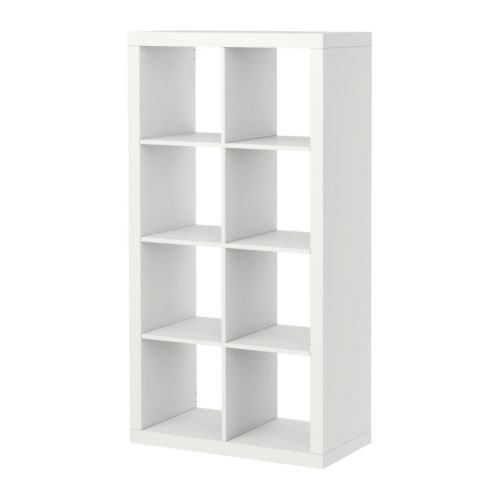 "EXPEDIT Bookcase, white Width: 31 1/8 "" Depth: 15 3/8 "" Height: 58 5/8 "" Max load/shelf: 29 lb  Width: 79 cm Depth: 39 cm Height: 149 cm Max load/shelf: 13 kg"