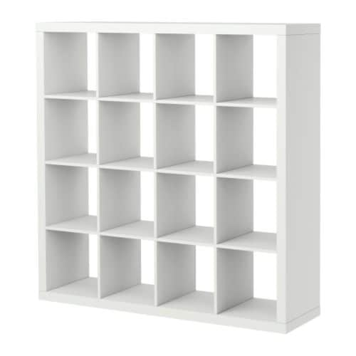 EXPEDIT Shelving unit IKEA You can use the furniture as a room divider  ~ Expedit Ikea Bookcase Ideas