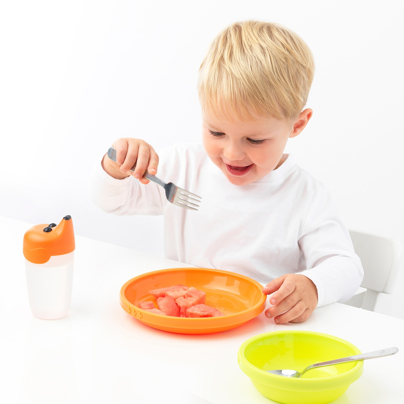 And Kids Baby Safe Feeding Set For Babies Toddlers Utensils CB EAT Flatware
