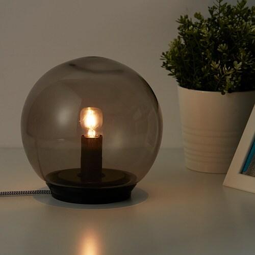 FADO Table lamp IKEA Creates a soft, cozy mood light in your room.