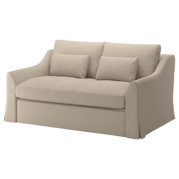 Magnificent Sleeper Sofa Farlov Flodafors Beige Andrewgaddart Wooden Chair Designs For Living Room Andrewgaddartcom