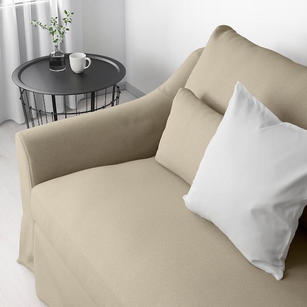 """FÄRLÖV sofa Flodafors beige 34 5/8 """" 85 7/8 """" 41 3/4 """" 5 7/8 """" 24 """" 75 1/4 """" 25 1/4 """" 18 7/8 """""""