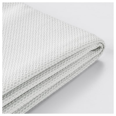 FÄRLÖV Cover for armchair, Flodafors white