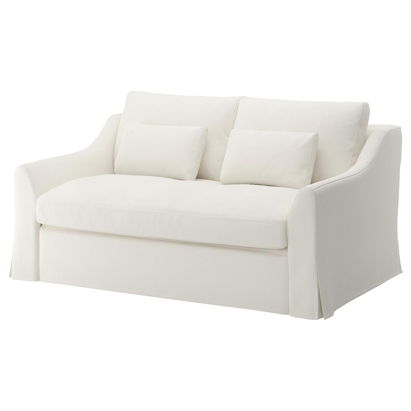 FÄRLÖV Cover For Sleeper Sofa, Flodafors White - IKEA