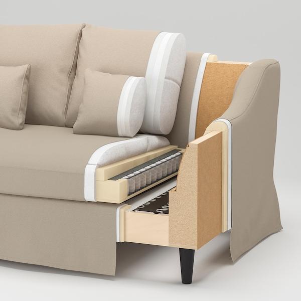 FÄRLÖV Sofa, Djuparp dark gray