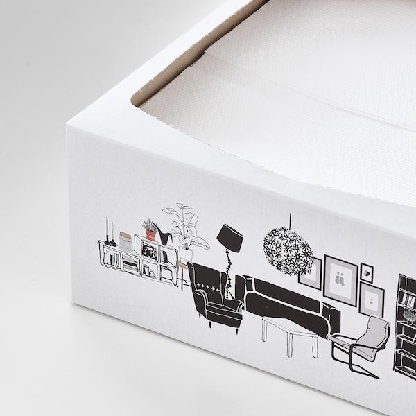 """FAMILJ Paper napkin, white, 6 ¼x12 ½ """""""
