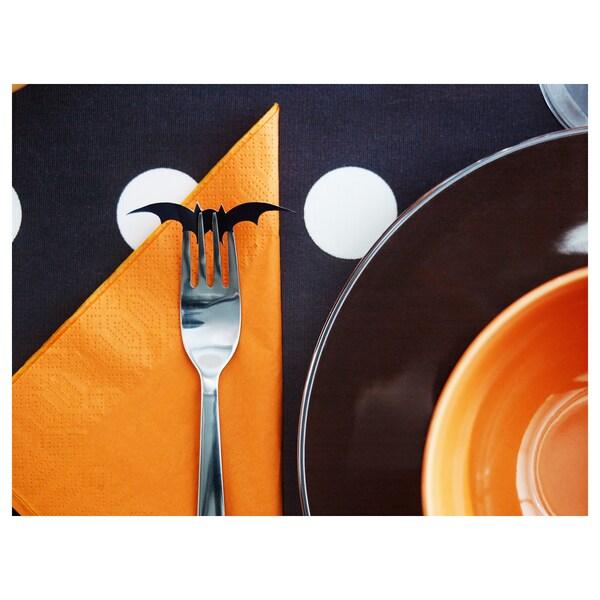 """FANTASTISK Paper napkin, orange, 15 ¾x15 ¾ """""""