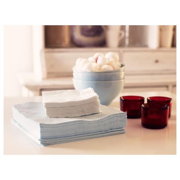 """FANTASTISK Paper napkin, white, 9 ½x9 ½ """""""