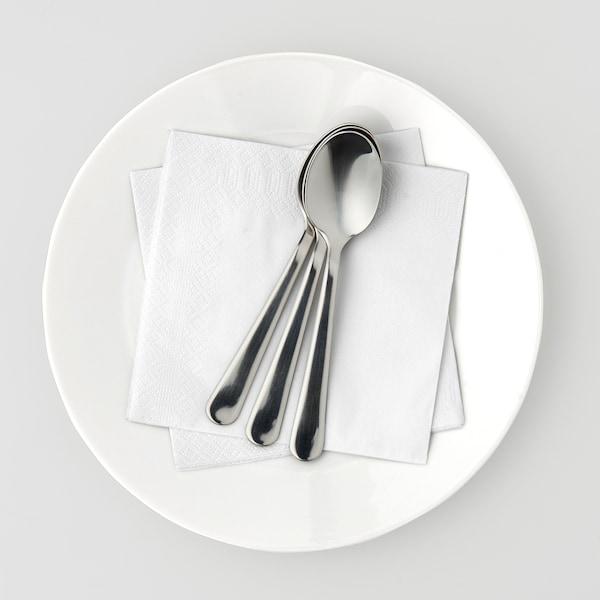 IKEA CLEAR FANTASTISK WHITE NAPKINS 40 X 40 cm 100 pk