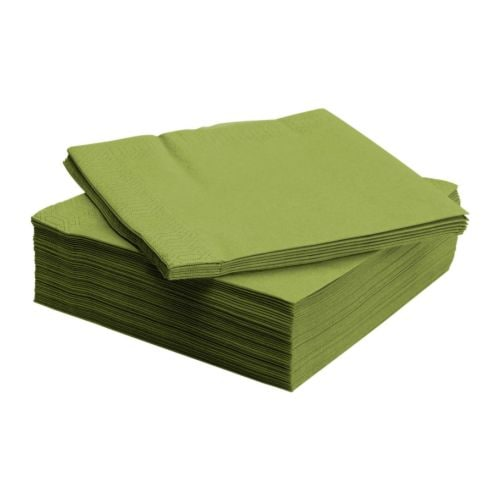 FANTASTISK Paper napkin IKEA Three-ply quality for high absorbency.