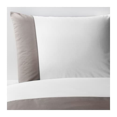 FÄRGLAV Duvet cover and pillowcase(s) IKEA The lyocell/cotton blend absorbs and draws moisture away from your body and keeps you dry all night long.