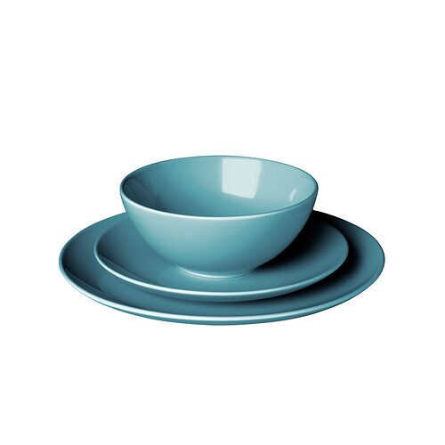 home eating dinnerware plates