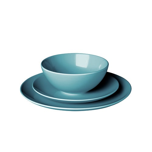 FÄRGRIK 18-piece dinnerware set - IKEA