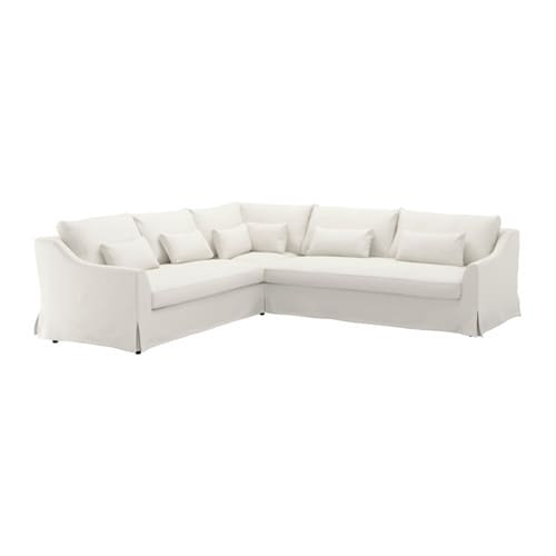 Schlafsofa ikea  FÄRLÖV Sectional,5 seat/sofa right - Flodafors white - IKEA