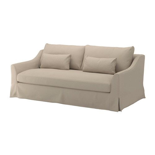 F rl v sofa flodafors beige ikea for Beiges sofa welche wandfarbe