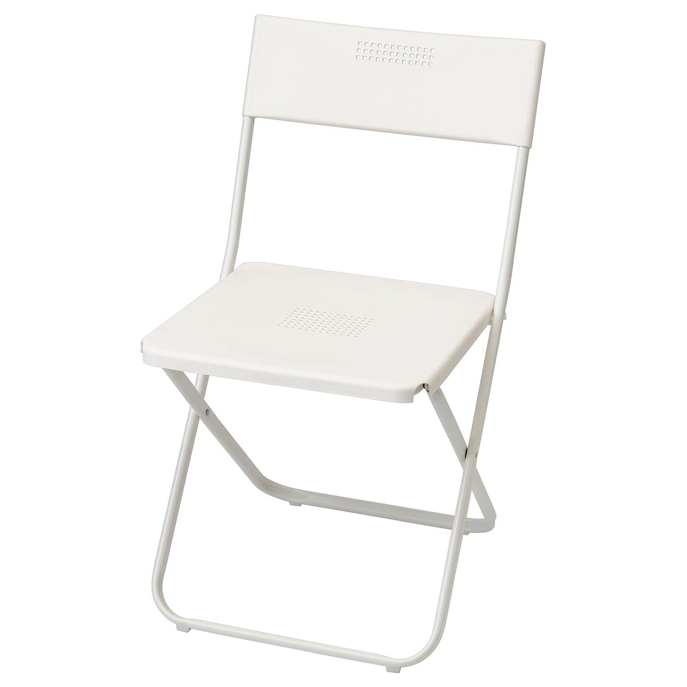 Fejan Chair Outdoor White Foldable