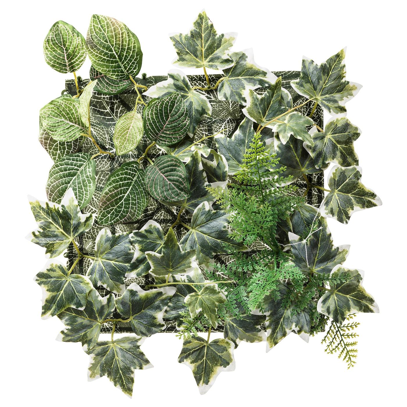 Artificial Plants Fake 56 leaves Foliage Bush Home Garden Office Wedding K5H2