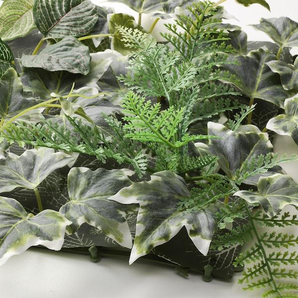 "FEJKA Artificial plant, wall mounted/indoor/outdoor green, 10 ¼x10 ¼ """