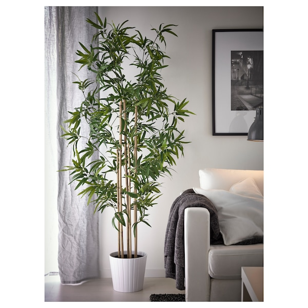 """FEJKA Artificial potted plant, indoor/outdoor bamboo, 9 """""""