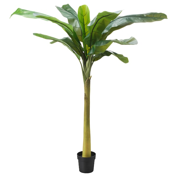 FEJKA Artificial potted plant, indoor/outdoor Banana tree, 8 ¼ ""