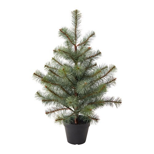fejka artificial potted plant - Potted Christmas Tree