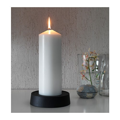 FENOMEN Unscented block candle IKEA Unscented.