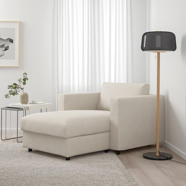 FINNALA Chaise, Gunnared beige