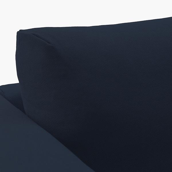FINNALA Chaise, Orrsta black-blue