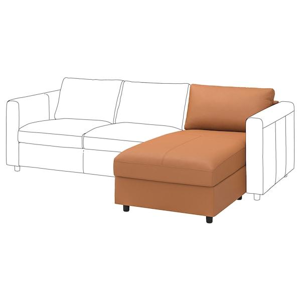 FINNALA Chaise section, Grann/Bomstad golden brown