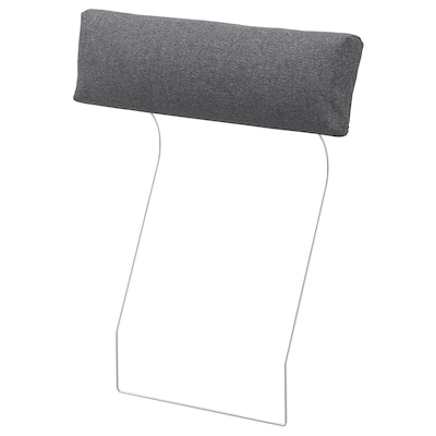 FINNALA Headrest, Gunnared medium gray