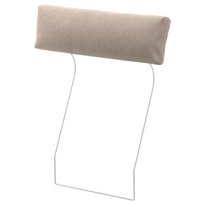 FINNALA Headrest, Tallmyra beige