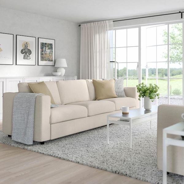 FINNALA Sleeper sofa, Gunnared beige